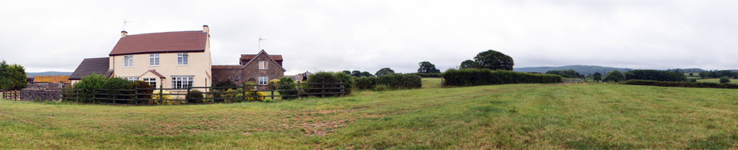 Brinsea Green Farm house panorama